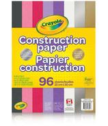 Crayola Construction Paper with Metallics