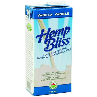 Manitoba Harvest Hemp Bliss Organic Vanilla Non-Dairy Beverage