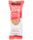 Snack Conscious Snack Bomb Blueberry Dark Chocolate Energy Balls Snack Size
