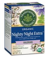 Traditional Medicinals Organic Nighty Night Extra Valerian Tea