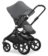 Bugaboo Fox Classic Complete Black & Grey Melange