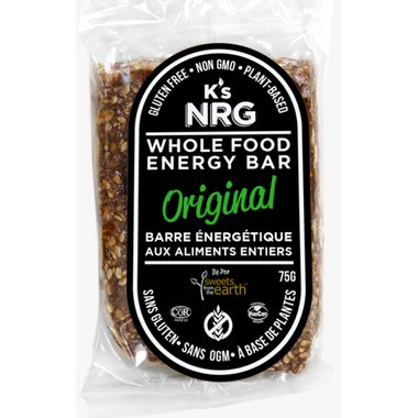 K\'s NRG Whole Food Energy Bar Original