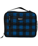 PackIt Freezable Classic Lunch Box Navy Buffalo
