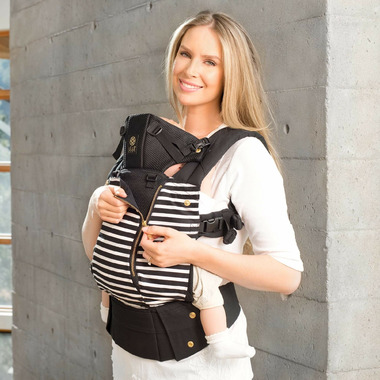 Lillebaby Complete All Seasons Black of the Same Stripes Baby Carrier