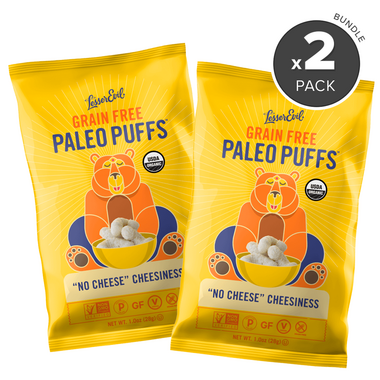 """LesserEvil Paleo Puffs \""""No Cheese\"""" Cheesiness Bundle"""