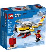 LEGO City Mail Plane Building Set