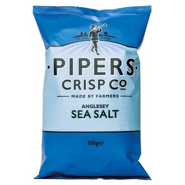 Pipers Crisps Anglesey Sea Salt Crisps