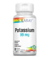 Solaray Potassium 99mg