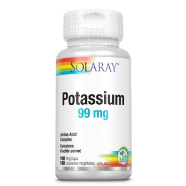 Solaray Potassium 99mg