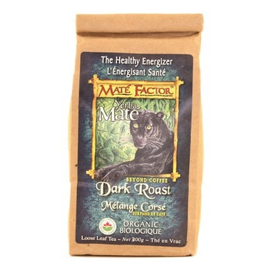 Mate Factor Yerba Mate Organic Beyond Coffee Dark Roast Tea