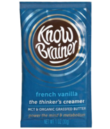 Know Brainer Ketogenic Creamer French Vanilla