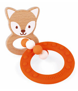 Baby Pop Fox Teething Ring