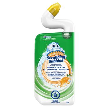 Scrubbing Bubbles Bubbly Bleach Gel Toilet Bowl Cleaner Citrus