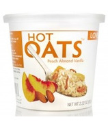 Love Grown Foods Hot Oats Peach Vanilla Almond