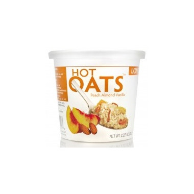 Love Grown Foods Hot Oats Peach Vanilla Almond
