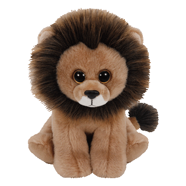 Ty Louie The Lion Beanie Babies Medium