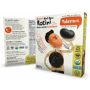 Tolerant Non-GMO Organic Black Bean Rotini