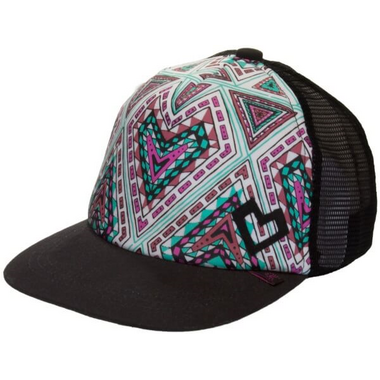 Calikids Trucker Hat Black Combo