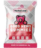 Herbaland Good News Gummies Rad Raspberry