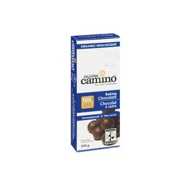 Cuisine Camino Unsweetened Baking Chocolate