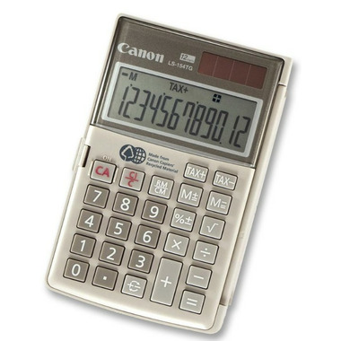 Canon Handheld Calculator