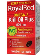 Webber Naturals RoyalRed Extra Strength Krill Oil Plus