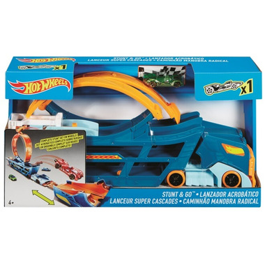 Hot Wheels Stunt & Go Mobile Playset