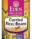 Eden Organic Canned Curry Rice & Beans