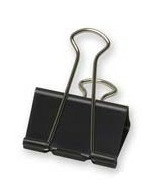 Acme Sure-Grip Foldback Binder Clips