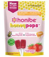 Honibe Honeypops For Kids Strawberry