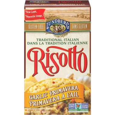 Lundberg Nutra-Farmed Garlic Primavera Risotto