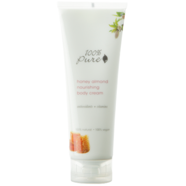 100% Pure Honey Almond Nourishing Body Cream
