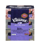 Kleenex Ultra Soft Facial Tissues 3-Pack