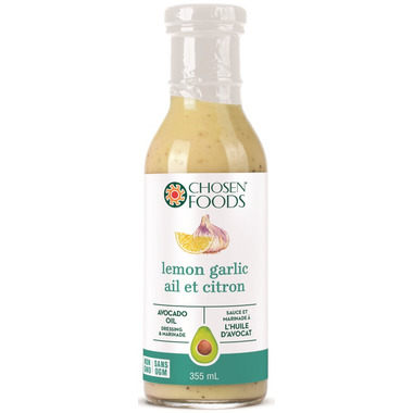 Chosen Foods Lemon Garlic Avocado Oil Dressing & Marinade