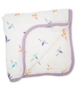 Lulujo Deluxe Quilt Muslin Hummingbird