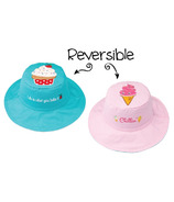 Flapjack Kids Reversible Sun Hat Cupcake & Ice Cream