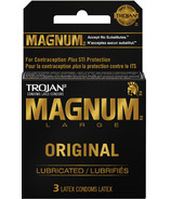 Trojan Magnum Large Lubricated Latex Condoms