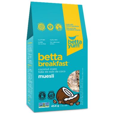 BettaYum Coconut Craze Muesli