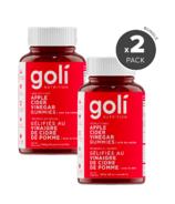 Goli Apple Cider Vinegar Gummies 2 Pack Bundle