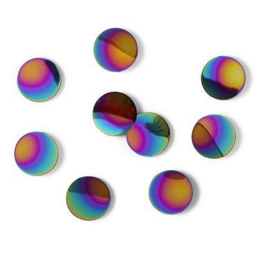 Umbra Confetti Wall Dots Rainbow Set of 10