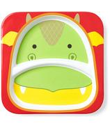 Skip Hop Zoo Divided Plate Dragon