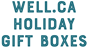 Well.ca Holiday Gift Boxes