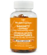 Wedderspoon Gummies Immunité au Miel de Manuka - Citrus