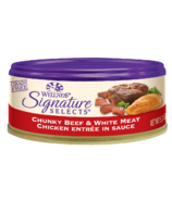 Wellness Signature Selects Chunky Beef & Chicken Wet Food CASE OF 12
