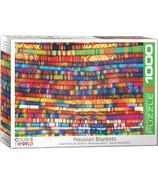 Eurographics Colors Of The World Casse-tête de couvertures péruviennes
