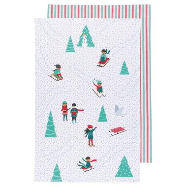 Now Designs Tea Towel Set Snow Much Fun