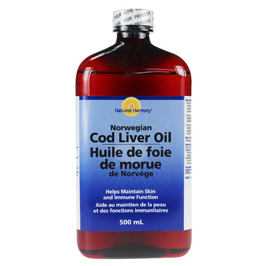 Nature\'s Harmony Cod Liver Oil