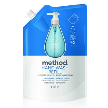 Method Gel Hand Wash Refill Sea Minerals