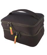 DabbaWalla Bags Duo Lunch Bag Black