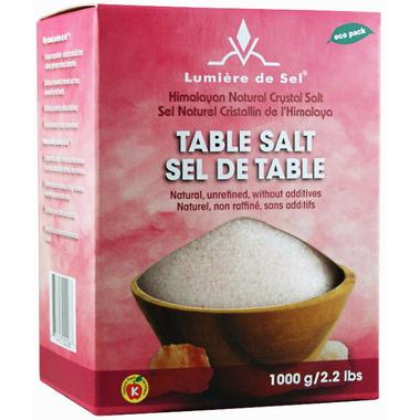 Lumiere del Se Himalayan Natural Crystal Salt